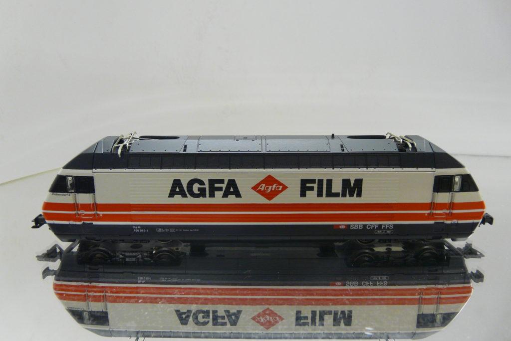 460 015-1 AGFA FILM 2.3.93 MARKLIN88363 259,-