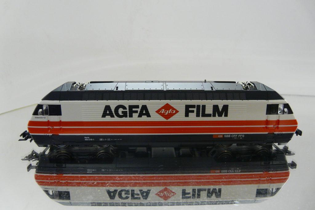 460 015-1 AGFA FILM 2.3.93 ROCO 43652 198,-
