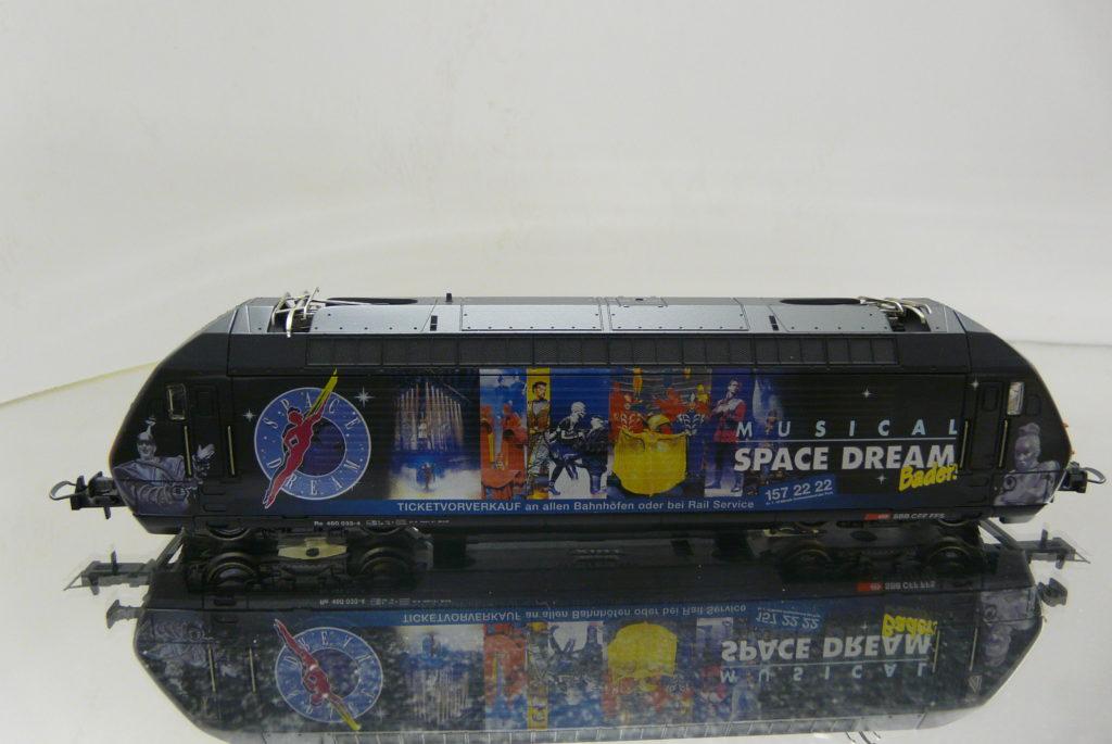 460 033-4 SPACE DREAM 20.11.97 TRIX 22589 279,-