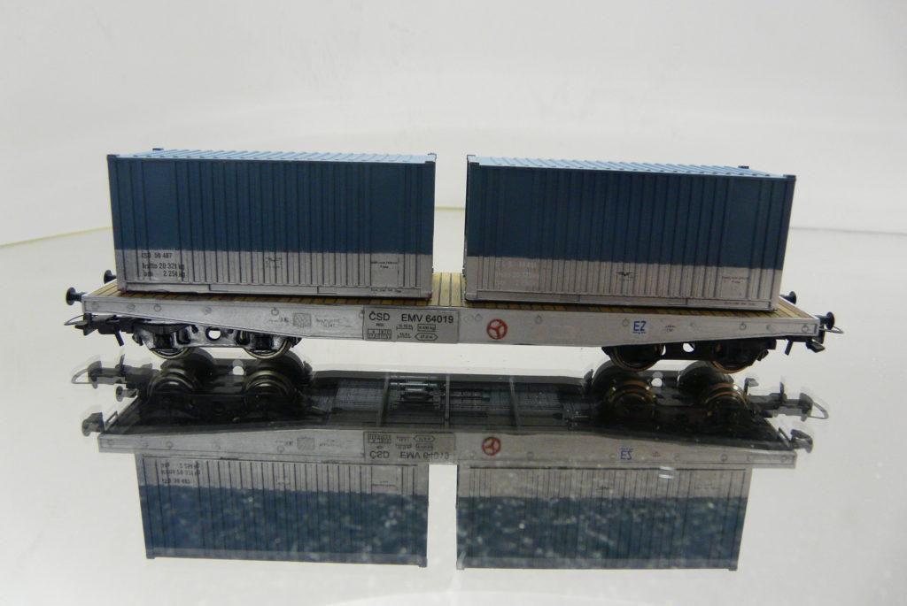 BRAMOS CSD, EMV 64 019, +2ks kontajnery 30,-