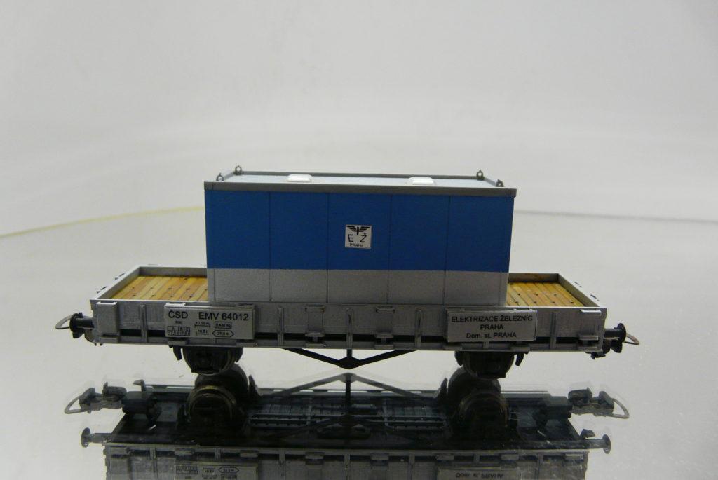 PIKO, EMV 64 012 +obytny kontajner 35,-